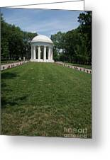 District Of Columbia War Memorial Greeting Card