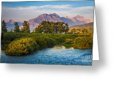 Divide Creek Morning Greeting Card