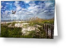 Divine Beach Day  Greeting Card