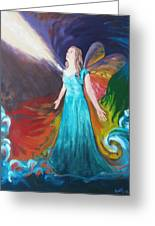 Divine Calling To Fly Greeting Card