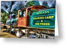Dixiana Engine 3 Greeting Card