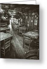 Dixie Chicken Interior Greeting Card by Scott Norris