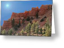 Dixie National Forest Utah Greeting Card