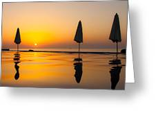 Djibouti Sunset Greeting Card