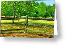 Do Not Fence Me In Greeting Card