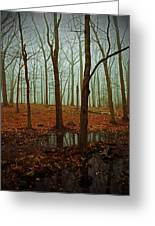 Do We Dare Go Into The Woods Greeting Card by Karol Livote