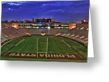 Doak Campbell Stadium Greeting Card