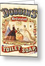 Dobbin's Toilet Soap Greeting Card
