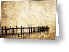 Dock 2 Greeting Card