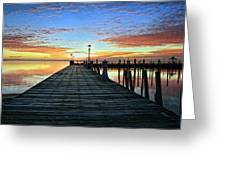 Dock A The Bay Greeting Card