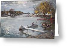 Dock At The Bay North Tonawanda Greeting Card