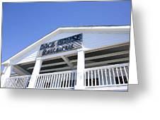 Dock House Restaurant Greeting Card