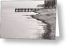 Dock Greeting Card