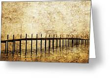 Dock Greeting Card