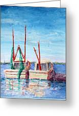 Docked Duo Greeting Card