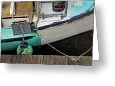 Dockside Detail Greeting Card
