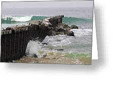 Dockweiler State Beach Greeting Card