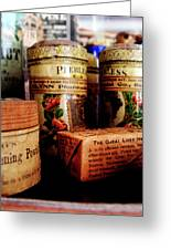 Doctor - Liver Pills In General Store Greeting Card