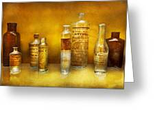 Doctor - Oil Essences Greeting Card