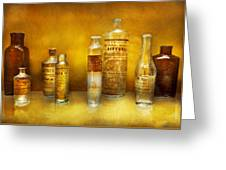 Doctor - Oil Essences Greeting Card by Mike Savad