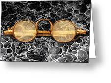 Doctor - Optometrist - Glasses Sold Here  Greeting Card