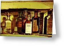 Doctor - Syrup Of Ipecac Greeting Card by Susan Savad