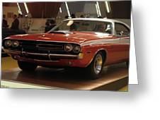 Dodge 1971 Challenger R/t Greeting Card