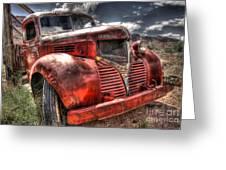 Dodge Bootlegger Truck Greeting Card