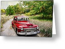 Dodge Country Greeting Card