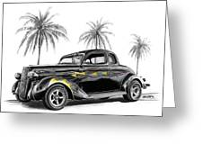 Dodge Coupe Greeting Card