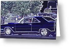 Dodge Dart Swinger Greeting Card