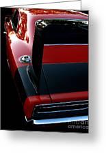 Dodge Daytona Fin Greeting Card