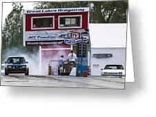 Dodge Omni Glh Vs Rwd Dodge Shadow - 04 Greeting Card