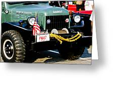 Dodge Power Wagon Front End Greeting Card