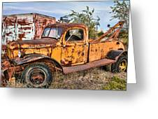 Dodge Power Wagon Wrecker Greeting Card