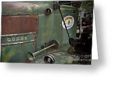 Dodge Truck Alaskan Highway Greeting Card