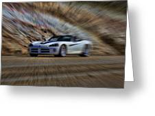 Dodge Viper V3 Greeting Card