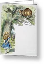 Dodgson: Alice, 1865 Greeting Card