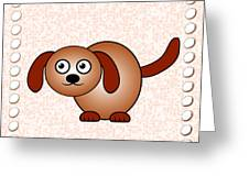 Dog - Animals - Art For Kids Greeting Card by Anastasiya Malakhova