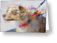 Dog Daze 5 Greeting Card