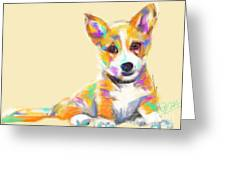 Dog Jerry Greeting Card