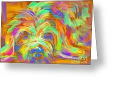 Dog Matze Greeting Card