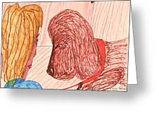 Dog Training Class Greeting Card