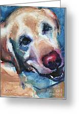 Doggie Breath Greeting Card