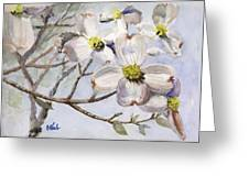 Dogwoods In Carolina Greeting Card