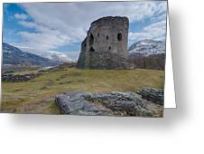 Dolbadarn Castle Greeting Card