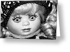 Doll 11 Greeting Card