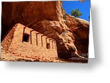 Doll House Anasazi Ruin Greeting Card