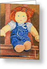 Doll Greeting Card