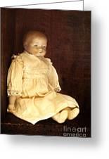 Doll Shop Greeting Card